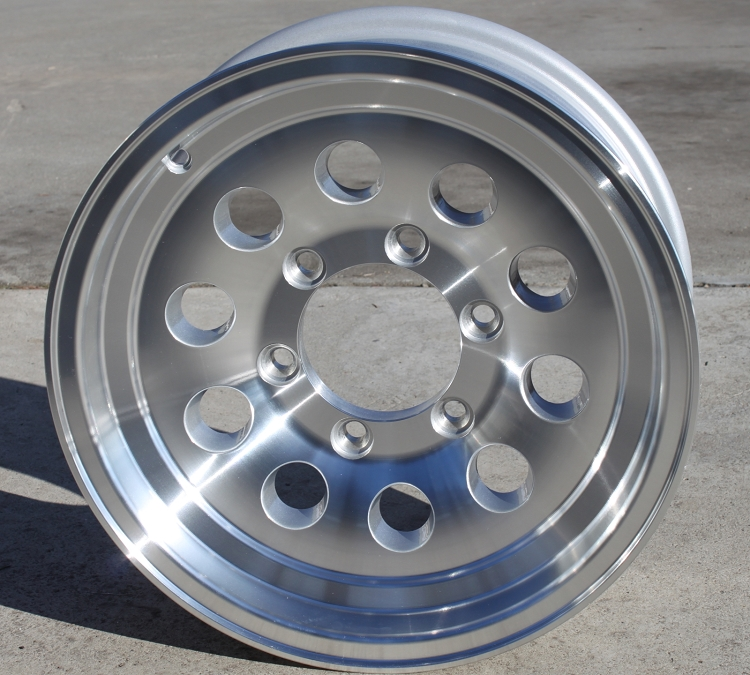 6 Hole 16 Inch Rims Fit : Quot aluminum mod trailer wheel hole