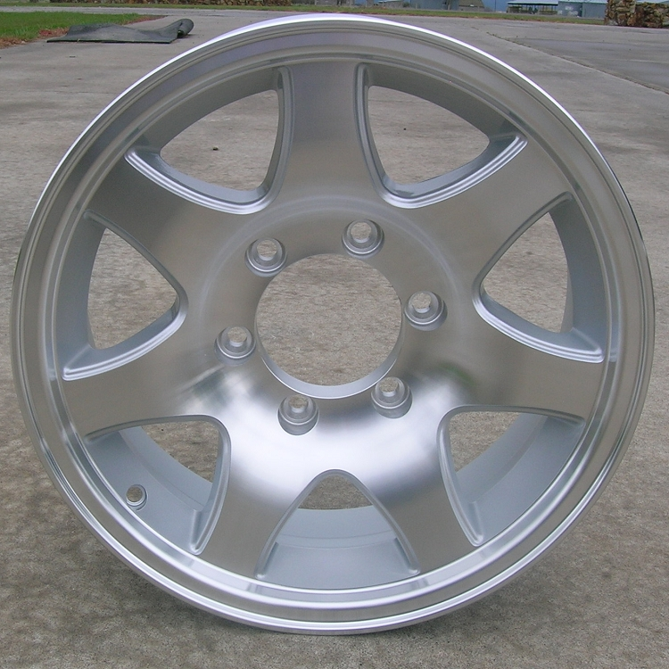 6 Hole 16 Inch Rims Fit : Quot aluminum type t trailer wheel hole