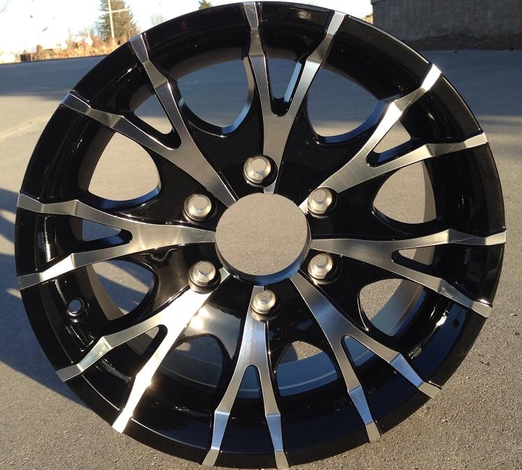 Perfect  Series 04 Hispec Aluminum Trailer Wheel Camper Rv Utility Boat  EBay