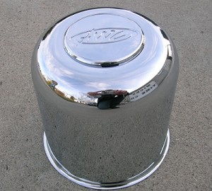 "4.25"" AWC Chrome Center Cap EZ-Lube"
