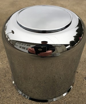 "4.90"" Chrome Center Cap EZ-Lube"