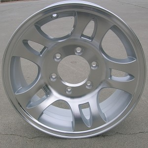 "16"" Aluminum Type T03 (Split Spoke) Trailer Wheel 6 Hole"