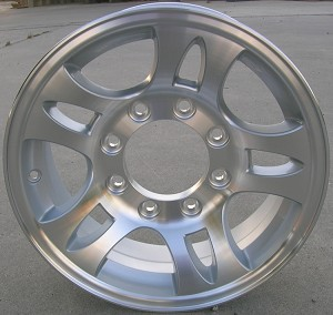 "16"" Aluminum Type T03 Trailer Wheel (8 Hole)"