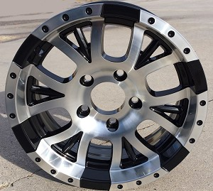 "15"" Aluminum Type T13 Trailer Wheel (5 on 5)"